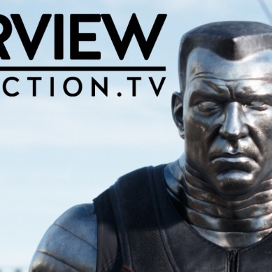 Face of Colossus in 'Deadpool'