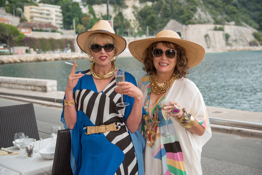 Patsy & Eddy Are At It Again In The New 'ABSOLUTELY FABULOUS: THE MOVIE' Trailer