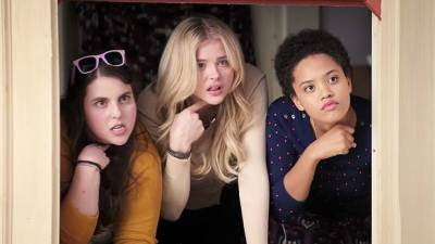 Beanie Feldstein, Chloë Grace Moretz and Kiersey Clemons star in NEIGHBORS 2: SORORITY RISING. Photo courtesy of Universal Pictures.
