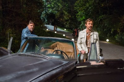 Russell Crowe and Ryan Gosling are THE NICE GUYS. Photo courtesy of Warner Bros.