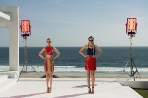 Bella Heathcote and Abbey Lee star in THE NEON DEMON. Photo courtesy of Broad Green Pictures.
