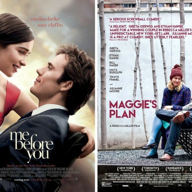 Rapid Movie Review: 'ME BEFORE YOU' and 'MAGGIE's PLAN'