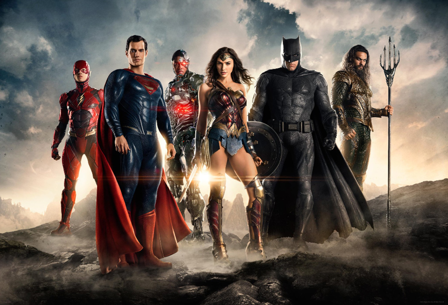 'JUSTICE LEAGUE' #SDCC footage stirs up excitement