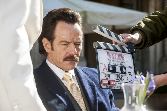 Bryan Cranston in in THE INFILTRATOR. Courtesy of Broad Green Pictures.
