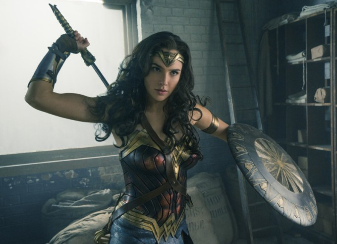 Gal Gadot is WONDER WOMAN. Courtesy of Warner Brothers/ DC.
