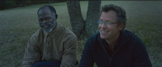 Greg Kinner and Djimon Hounsou star in SAME KIND OF DIFFERENT AS ME. Courtesy of Paramount Pictures.