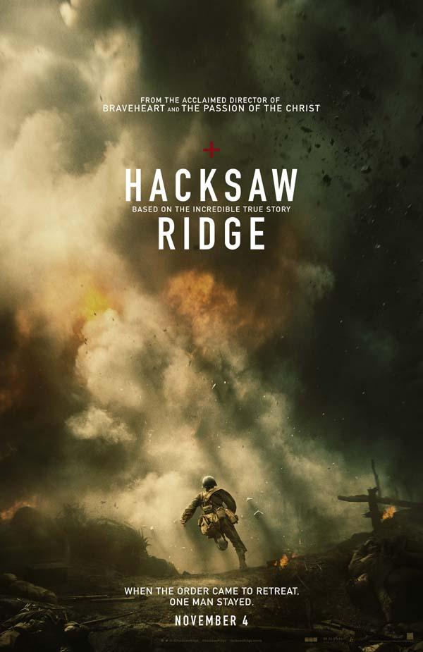HACKSAW RIDGE Teaser Poster