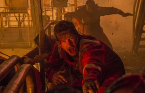 Mark Wahlberg in DEEPWATER HORIZON. Courtesy of Summit/ Lionsgate.