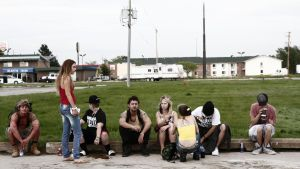 The cast of AMERICAN HONEY. Courtesy of A24.