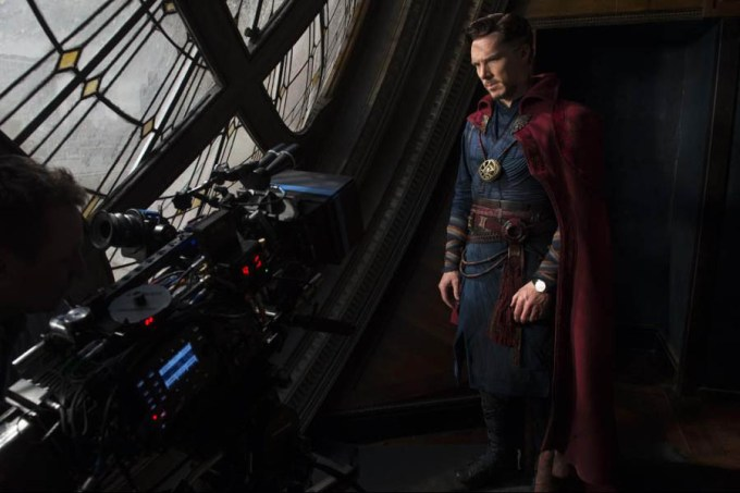 Benedict Cumberbatch is DOCTOR STRANGE. Courtesy of Marvel Studios.