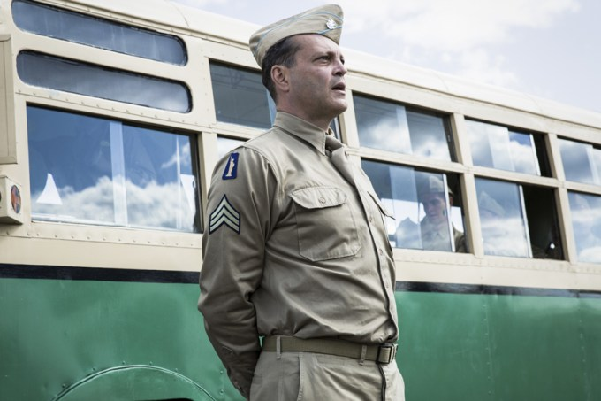 Vince Vaughn stars as 'Sergeant Howell' in HACKSAW RIDGE. Courtesy of Lionsgate.