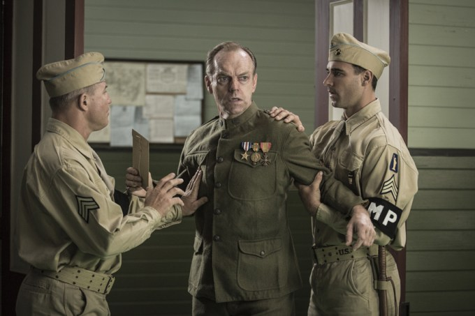 Hugo Weaving stars as 'Tom Doss' in HACKSAW RIDGE. Courtesy of Lionsgate