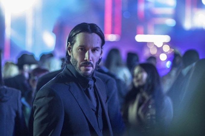 Keanu Reeves stars as 'John Wick' in JOHN WICK: CHAPTER 2. Courtesy of Summit/ Lionsgate.