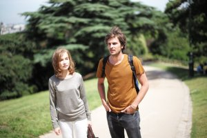 Isabelle Huppert and Roman Kolinka in THINGS TO COME. Courtesy of Sundance Selects.