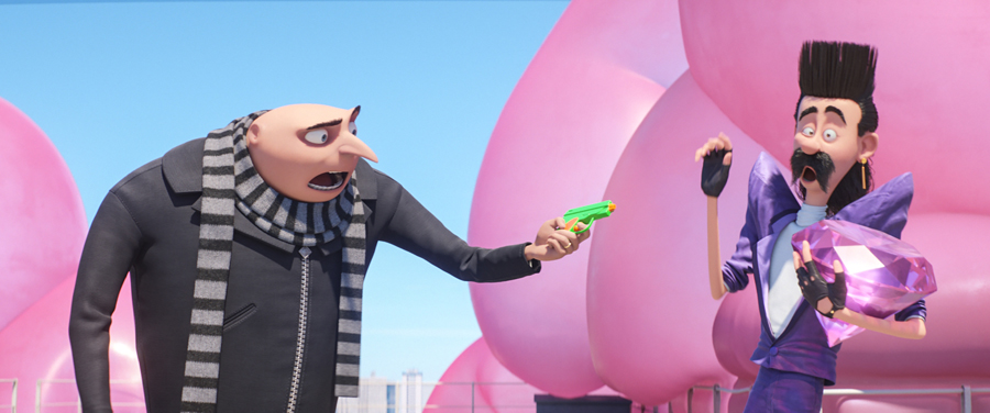 'DESPICABLE ME 3' trailer introduces new villain, lots of 80's references