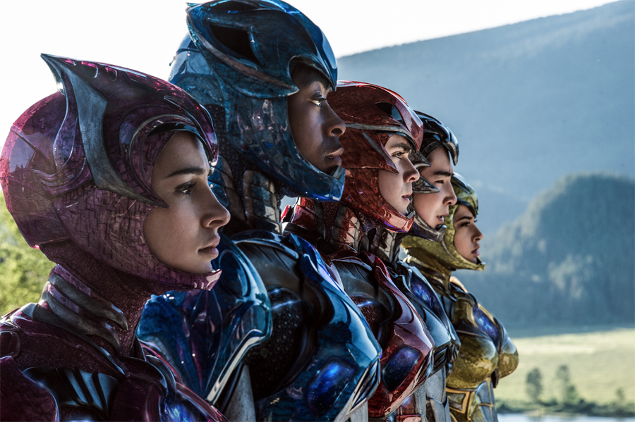 Movie Review: 'POWER RANGERS' – dino might