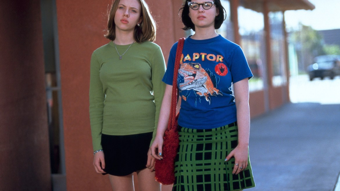 Criterion's 'GHOST WORLD' release is the boo diggity