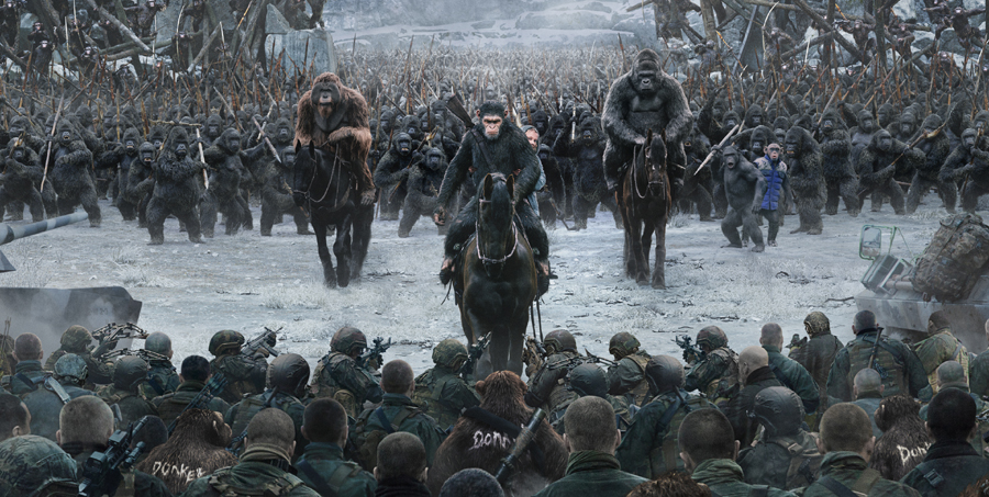 Brutality, bluster & bravado are on full display in new 'WAR FOR THE PLANET OF THE APES' trailer