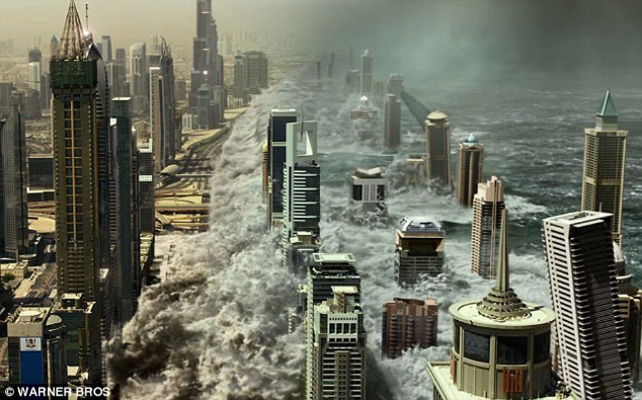 Gerard Butler saves the world in 'GEOSTORM'… and it's absurdly magnificent