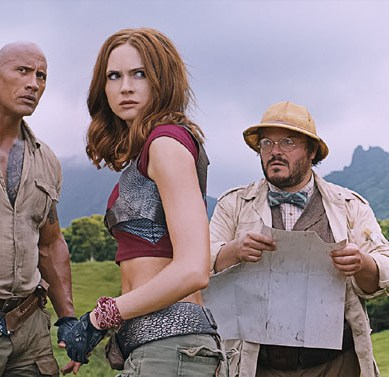 'JUMANJI: WELCOME TO THE JUNGLE' adds meta comedy to the epic action