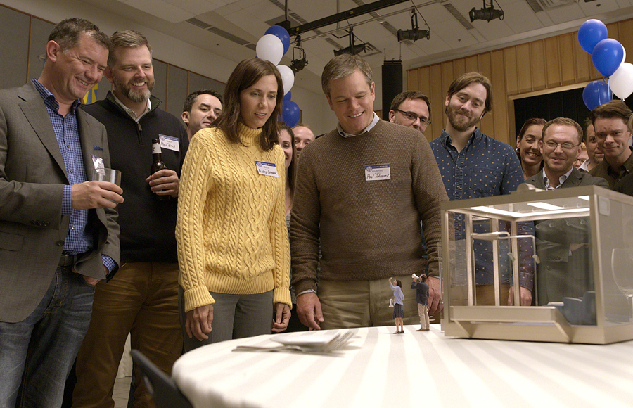 Matt Damon & Kristen Wiig are interested in 'DOWNSIZING' – and so are we!