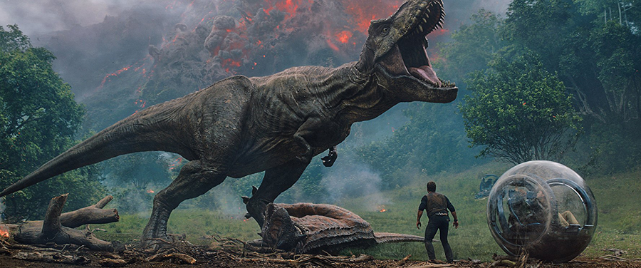 Movie Review: 'JURASSIC WORLD: FALLEN KINGDOM' finds some fun in its insanity