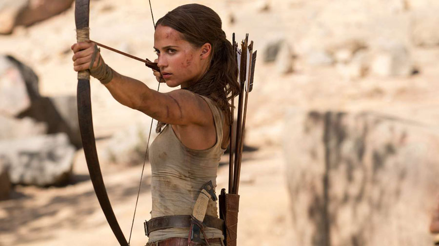 Why 'TOMB RAIDER' is important for cinema's next generation of 'strong female characters'