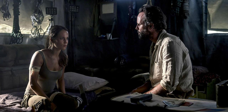 Alicia Vikander & Walton Goggins chart new ground in 'TOMB RAIDER'