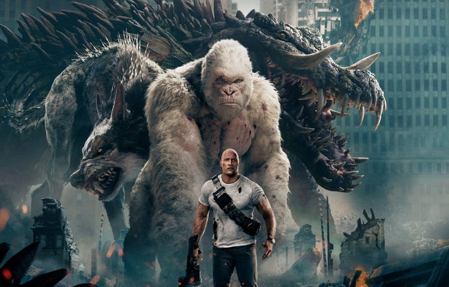 9 gargantuan fun facts (and 1 Easter Egg) you should know about 'RAMPAGE'