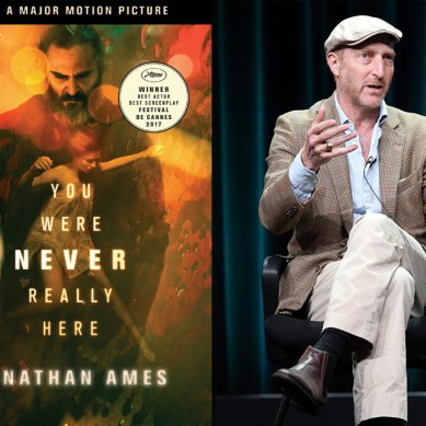 'YOU WERE NEVER REALLY HERE' author Jonathan Ames finds creative symbiosis with Lynne Ramsay & Joaquin Phoenix