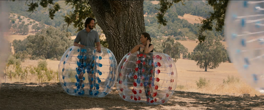 "Please RSVP ""yes"" to Keanu Reeves & Winona Ryder's 'DESTINATION WEDDING'"