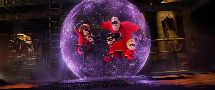 Movie Review: 'INCREDIBLES 2' earns its name with twice the fun