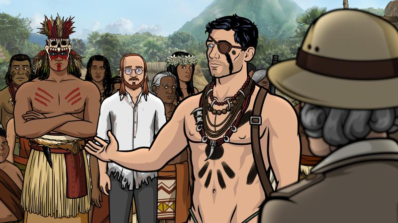 "TV Review: 'ARCHER' – ""Comparative Wickedness of Civilized and Unenlightened Peoples"" (Season 9, Episode 7)"