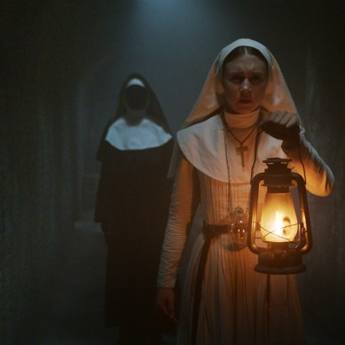 Movie Review: 'THE NUN' conjures up some spooks, but its unoriginality is a sin