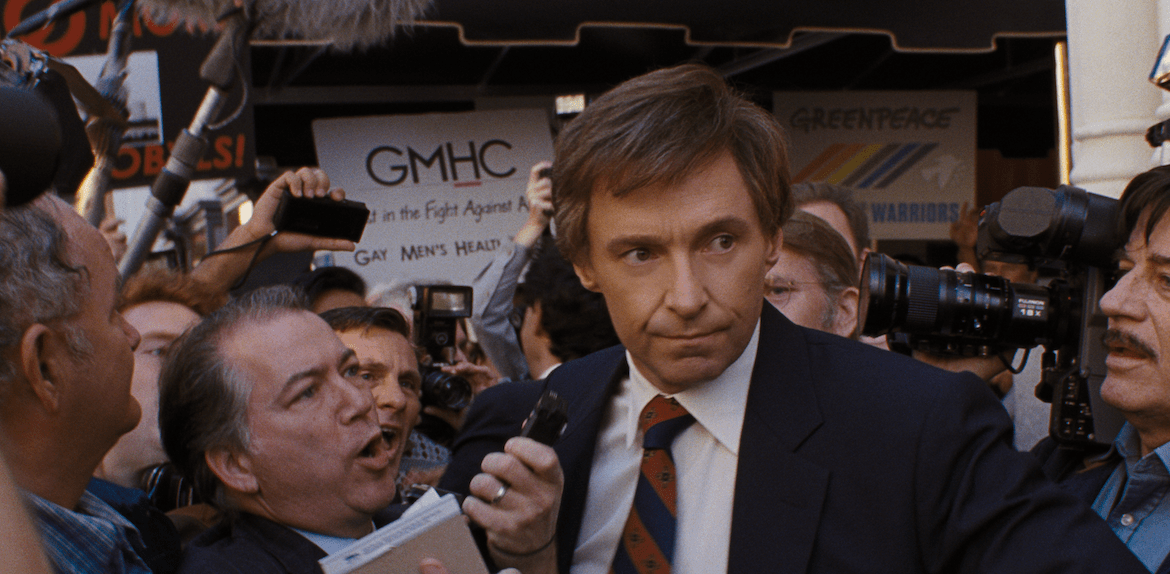 TIFF Review: 'THE FRONT RUNNER' is Hugh Jackman like you've never seen him before