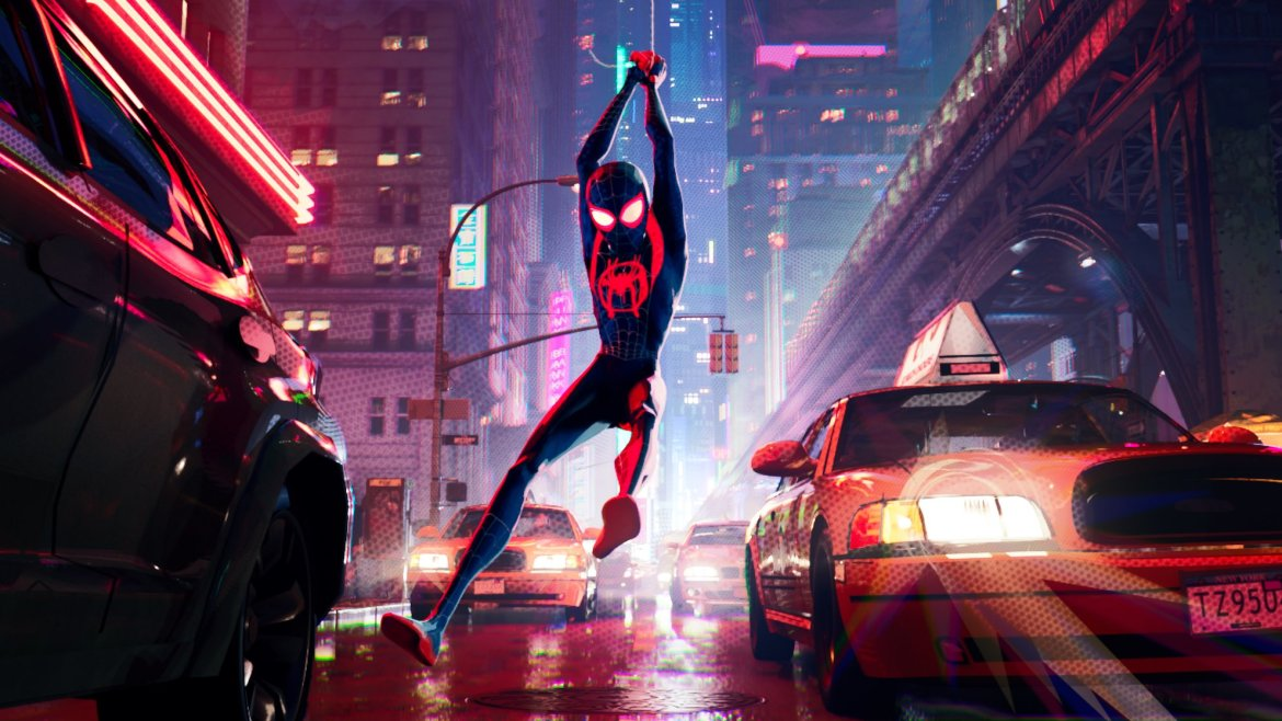 Movie Review: 'SPIDER-MAN: INTO THE SPIDER-VERSE' catches greatness in its visionary web