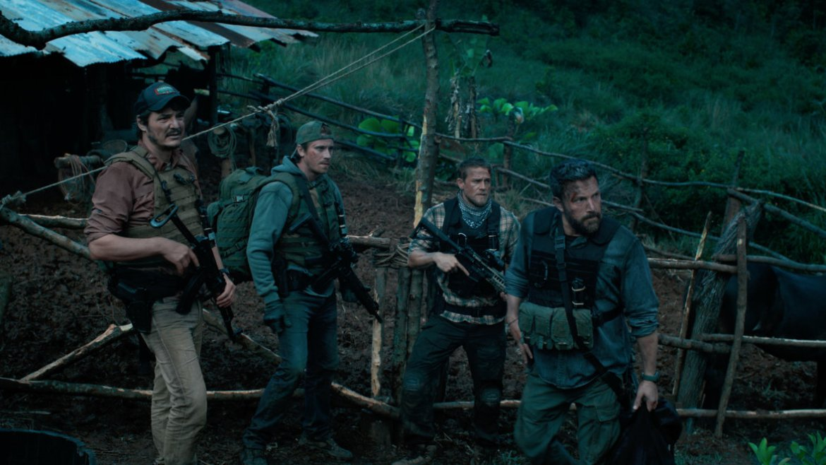 Movie Review: 'TRIPLE FRONTIER' provides cheap thrills, but to what end?
