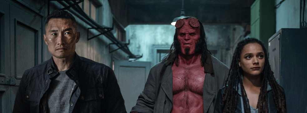 Movie Review: 'HELLBOY' a shameful reimagining void of fun, heart