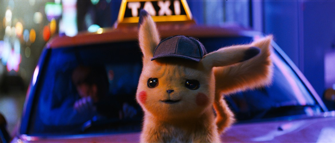 Movie Review: 'POKÉMON DETECTIVE PIKACHU' – Little. Yellow. Different.