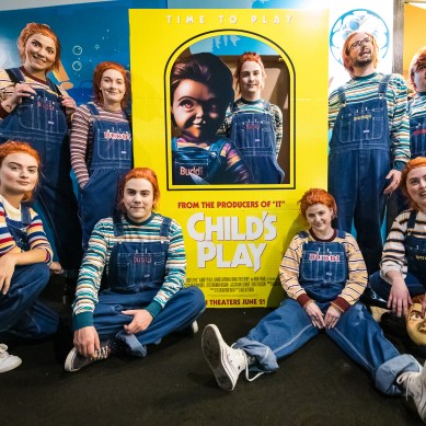 Orion Pictures celebrates 'CHILD'S PLAY' release with special screening filled with cosplayers