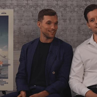 [Video Interview] stars Ed Skrein and Luke Kleintank capture courage and sacrifice in 'MIDWAY'