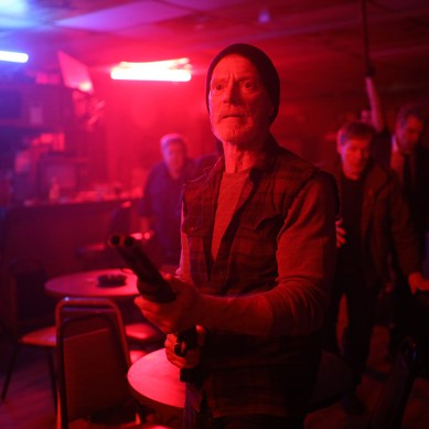 [Review] 'VFW' an '80s-soaked, neon gorefest that's fresh out of ideas