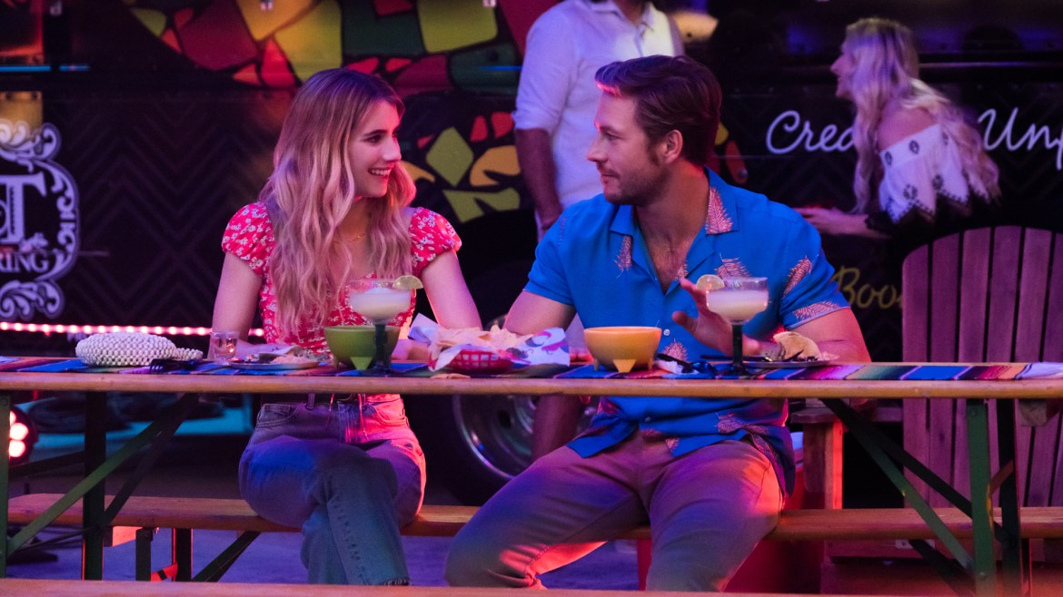 'HOLIDATE' Review: Emma Roberts and Luke Bracey are winning in an otherwise unremarkable romcom