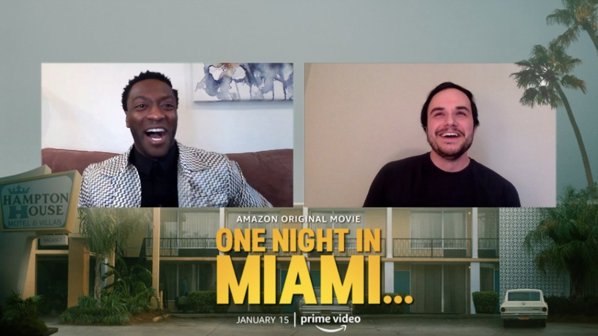 [Video Interview] Aldis Hodge on 'ONE NIGHT IN MIAMI,' portraying Jim Brown and lessons of growth