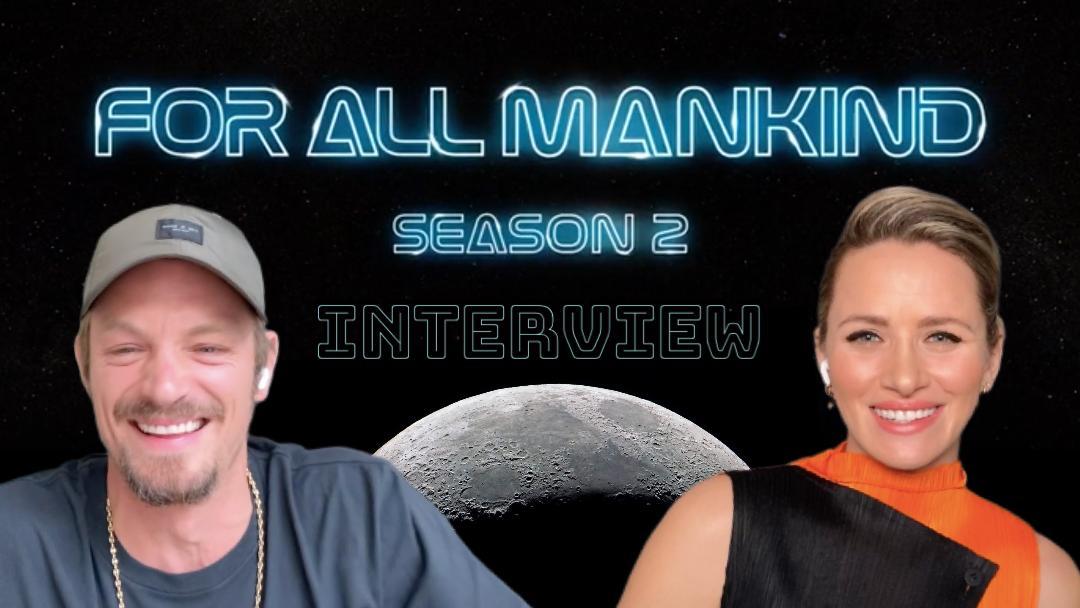 'FOR ALL MANKIND' Video Interview: Joel Kinnaman and Shantel VanSanten on new season's themes of growth, sacrifice
