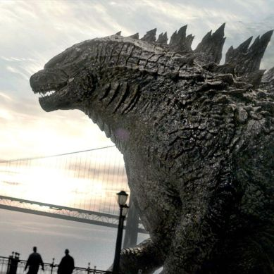 Stomp the yard with the new 4K release of 2014's 'GODZILLA'