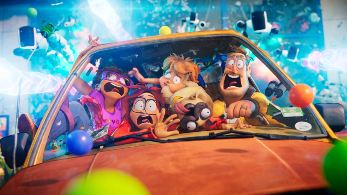 [Review] 'MITCHELLS VS. THE MACHINES' a rapturous animated film about family challenges amid a robot apocalypse