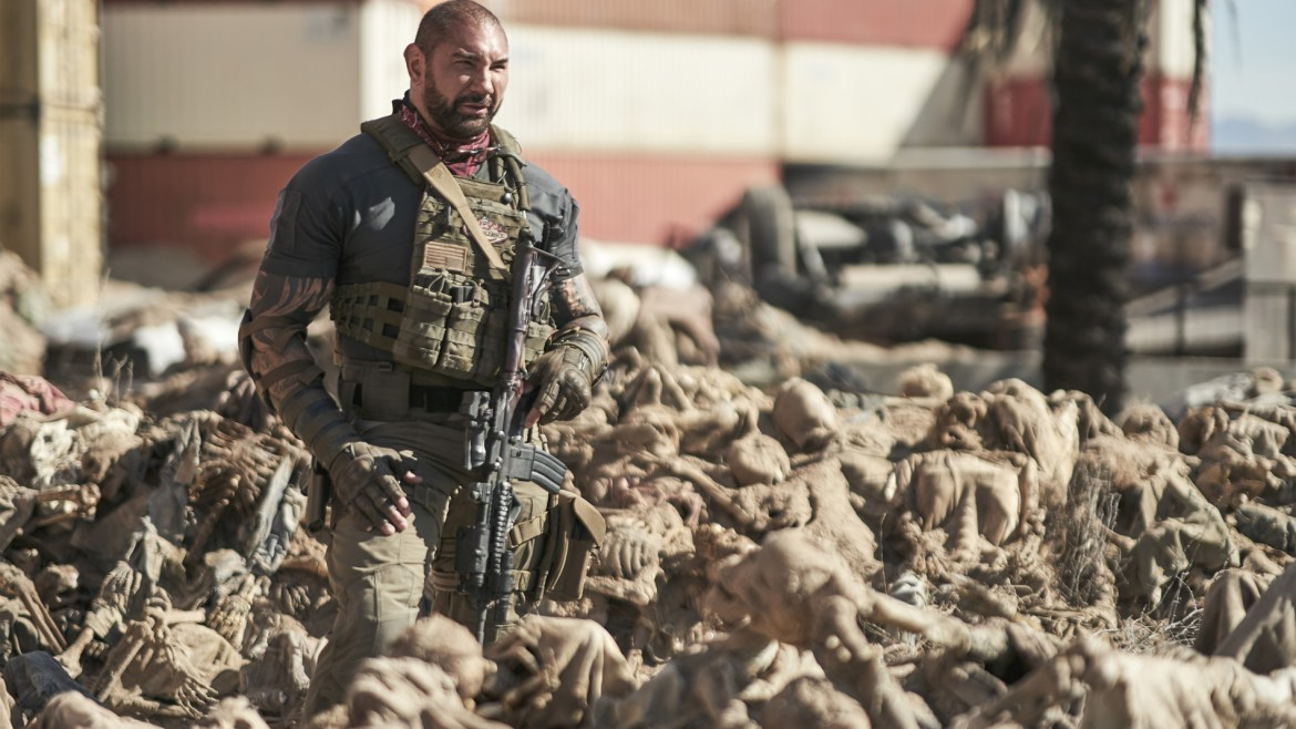 [Interview] 'ARMY OF THE DEAD' filmmaker Zack Snyder and star Dave Bautista Craft A Different Kind of Zombie Movie
