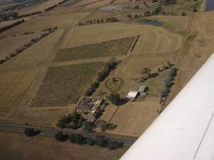 Aerial view of Freshfield Grove