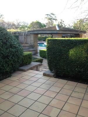 My private terrace.